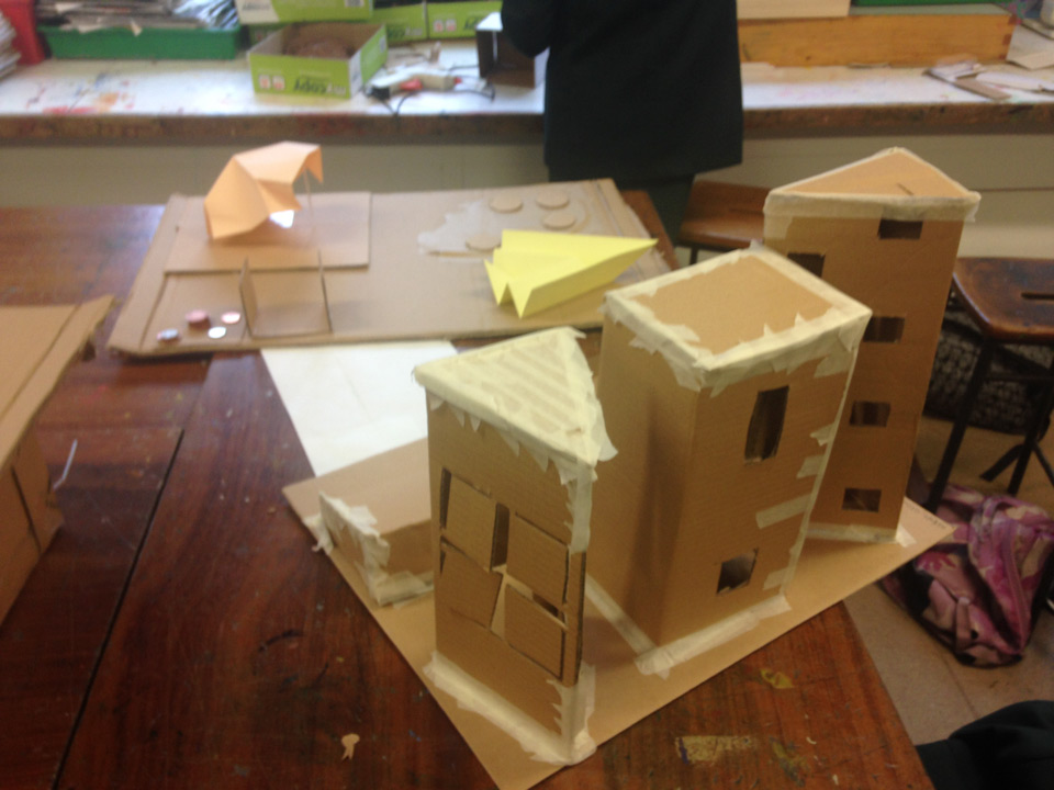 Architecture Project with St Marylebone students by Richard Hards